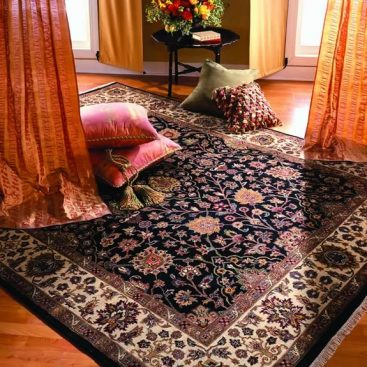 Persian carpet decorating