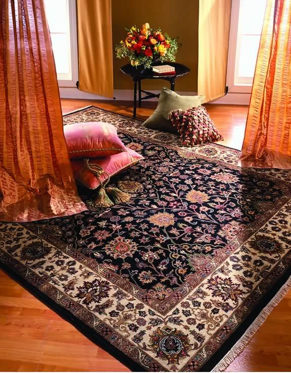 Persian carpet decorating
