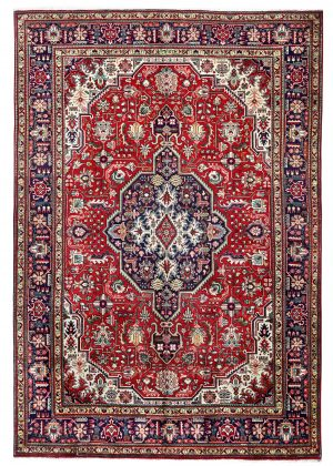 Red Tabriz Rug – Persian carpet for sale – 2x3m DR417-DR418