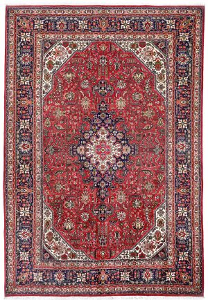 Red Tabriz Rug – Persian carpet for sale – 2x3m DR423-DR424