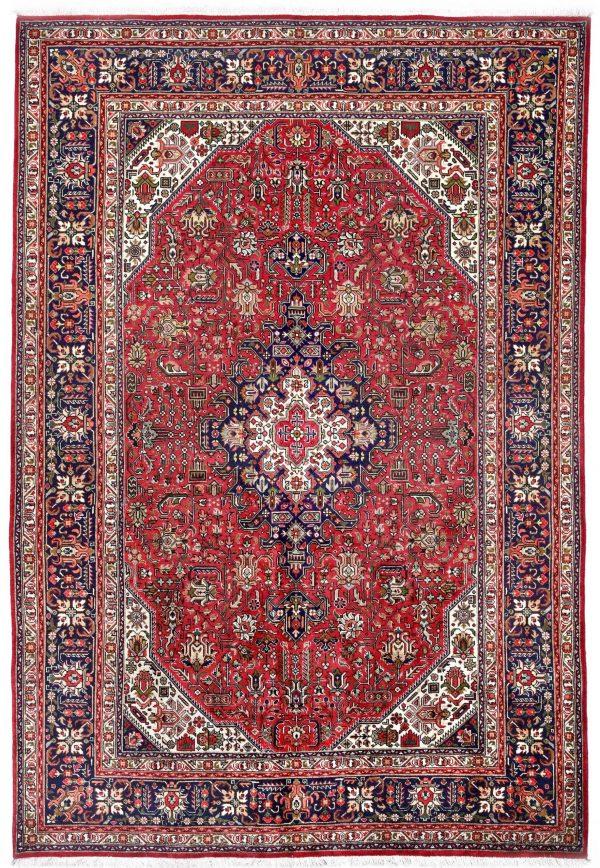 Red Tabriz Rug – Persian carpet for sale – 2x3m DR423-DR424