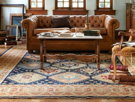 Persian carpet decorating idea