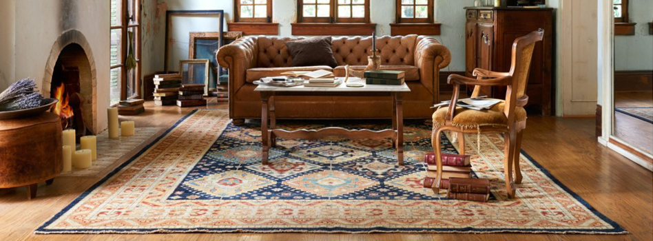 Persian carpet decorating idea