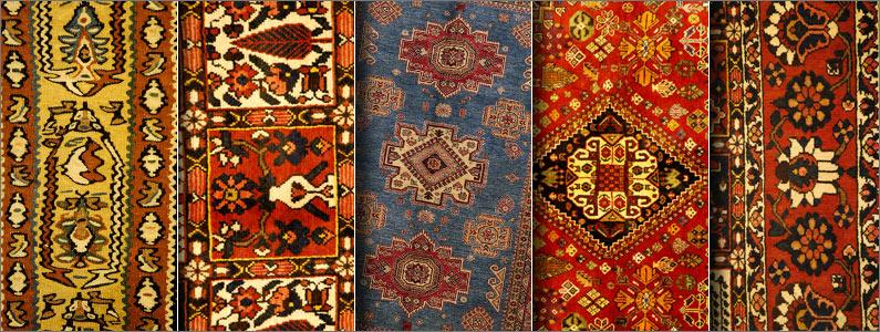 Persian carpet types