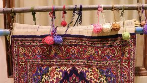 Persian carpet loom