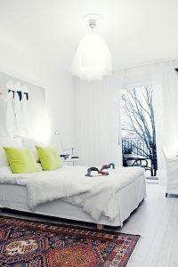 Scandinavian Nordic modern decorating Persian carpet rug
