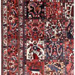 Bakhtiar Rug, Bakhtiari Persian carpet for sale 2x3m DR382-1