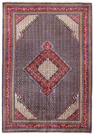 Blue Ardabil Rug - Persian carpet for sale - 2x3m-DR420