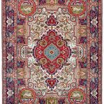 Blue Tabriz Rug, Blue Persian carpet for sale 2x3m DR406-6870