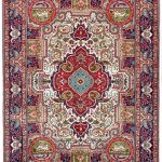 Blue Tabriz Rug, Blue Persian carpet for sale 2x3m DR406-6870