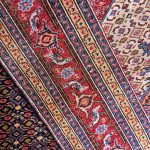 Blue-red Ardabil Rug – Persian carpet for sale-6780