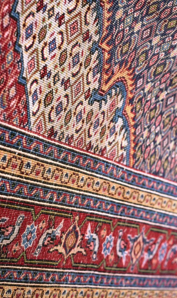 Blue-red Ardabil Rug - Persian carpet for sale