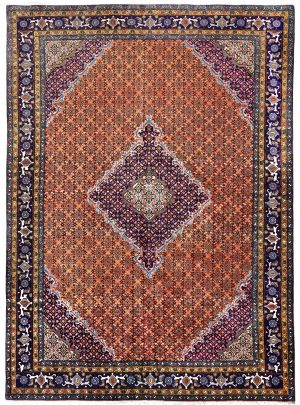 Copper Ardabil Rug - Persian carpet for sale - 2x3m-DR421-6822