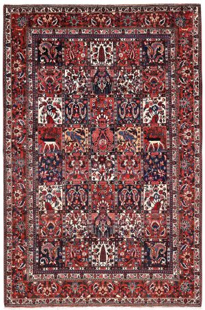 Bakhtiar Rug, Bakhtiari Persian carpet for sale 2x3m DR382