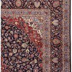 Dark Blue Kashan Rug – Persian carpet for sale-3x4m-DR375-7025