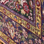 Gold Tabriz Rug, Yellow Persian carpet for sale 2x3m DR401-6683