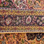 Gold Tabriz Rug, Yellow Persian carpet for sale 2x3m DR402-6672