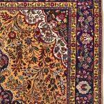 Golden Tabriz Rug, Gold Persian carpet for sale 2x3m DR402-1
