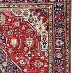 Red Tabriz Rug – Persian carpet for sale – 2x3m DR417-DR418