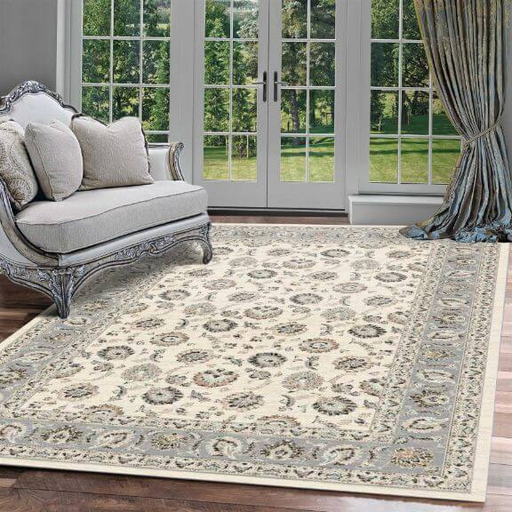 Persian rug decorating image