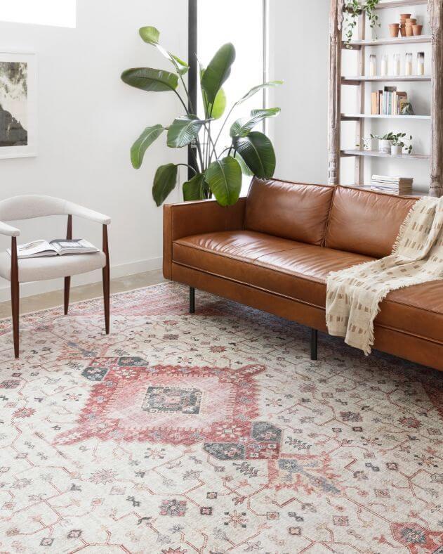 Persian carpet decorating image