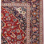 Red Kashan Rug – Persian carpet for sale – 2x3m DR414-6846-1