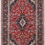 Red Kashan Rug – Persian carpet for sale – 2x3m DR414-6846