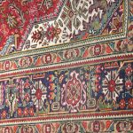 Red Tabriz Rug – Persian carpet for sale – 2x3m DR415-6765