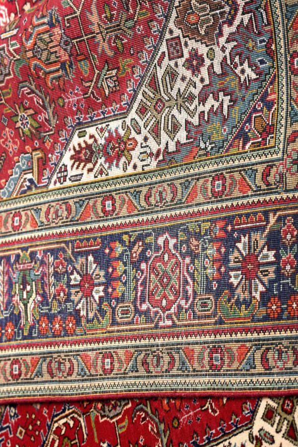 Red Tabriz Rug - Persian carpet for sale - 2x3m DR417