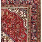 Red Tabriz Rug – Persian carpet for sale – 2x3m DR415-6842-1