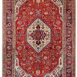 Red Tabriz Rug – Persian carpet for sale – 2x3m DR415-6842