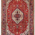 Red Tabriz Rug – Persian carpet for sale – 2x3m DR415-6842