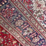 Red Tabriz Rug – Persian carpet for sale – 2x3m DR417-6772