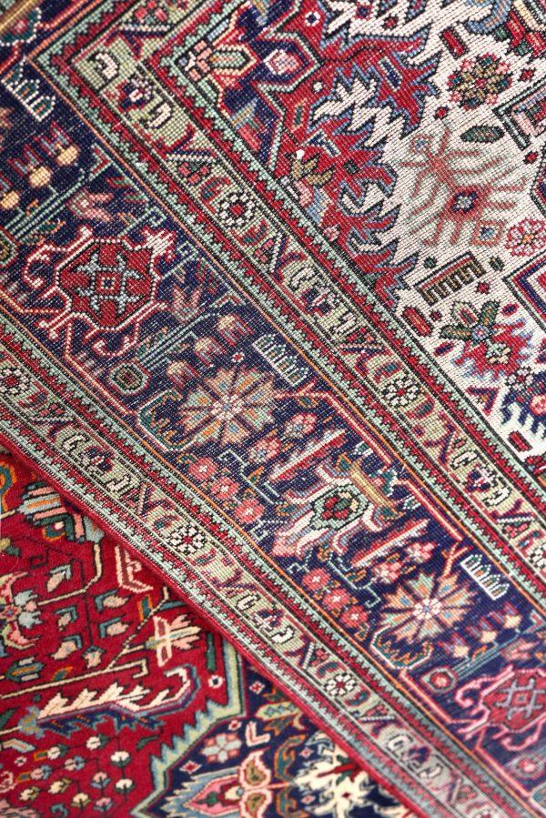 Red Tabriz Rug - Persian carpet for sale - 2x3m DR417
