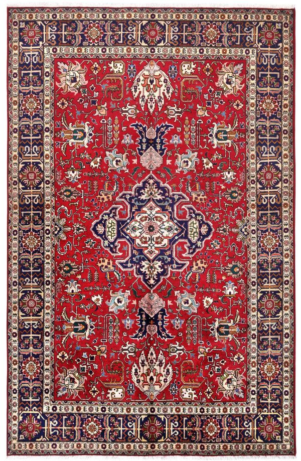 RedTabriz Rug - Persian carpet for sale - 2x3m-DR418-DR419-6829