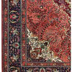 Tabriz Coral Rug, Coral Persian carpet for sale 2x3m DR412-6855-1