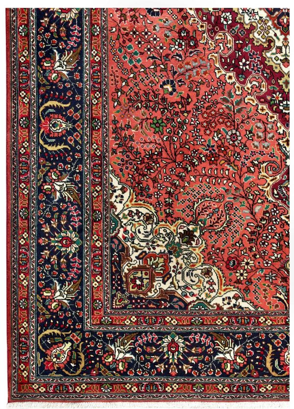 Tabriz Coral Rug, Coral Persian carpet for sale 2x3m DR412-6853