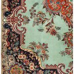 Tabriz Green Rug, Persian carpet for sale 2x3m DR408-1