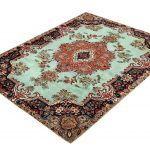 Tabriz Green Rug, Persian carpet for sale 2x3m DR408-2