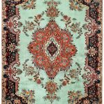 Tabriz Green Rug, Persian carpet for sale 2x3m DR408
