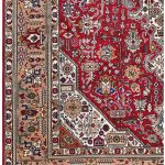 Tabriz Red Rug, Ghoba Persian carpet for sale 2x3m DR404- DR405-6872-1