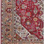 Tabriz Red Rug, Ghoba Persian carpet for sale 2x3m DR404- DR405-6872-1