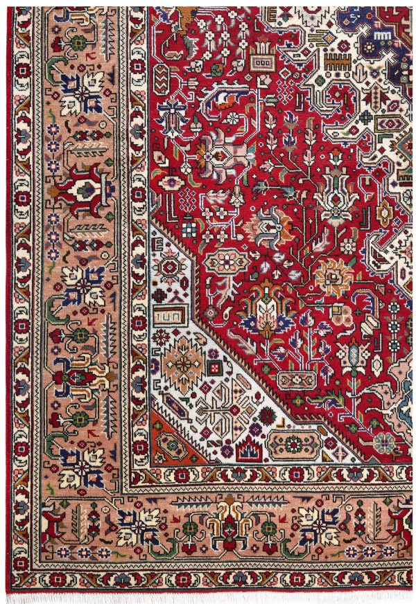 Tabriz Red Rug, Ghoba Persian carpet for sale 2x3m DR404- DR405-6872
