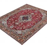 Tabriz Red Rug, Ghoba Persian carpet for sale 2x3m DR404- DR405-6872-2
