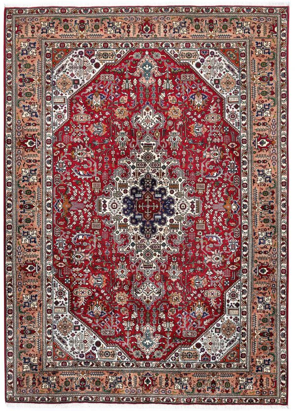 Tabriz Red Rug, Ghoba Persian carpet for sale 2x3m DR404- DR405-6872