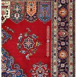 Tabriz Red Rug, Red Persian carpet for sale 2x3m DR411-6860-1