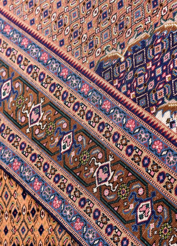 Yellow Ardabil Rug - Persian carpet for sale - 2x3m-DR422