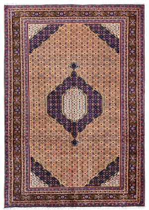 Yellow Ardabil Rug - Persian carpet for sale - 2x3m-DR422-6815