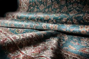 Persian Mashad rug carpet