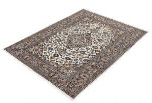 Beige Kashan Persian carpet for sale 2x3m DR231